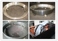Hot Rolled ASTM JIS BS EN DIN Steel Forging Rings Heat Treatment And Machined