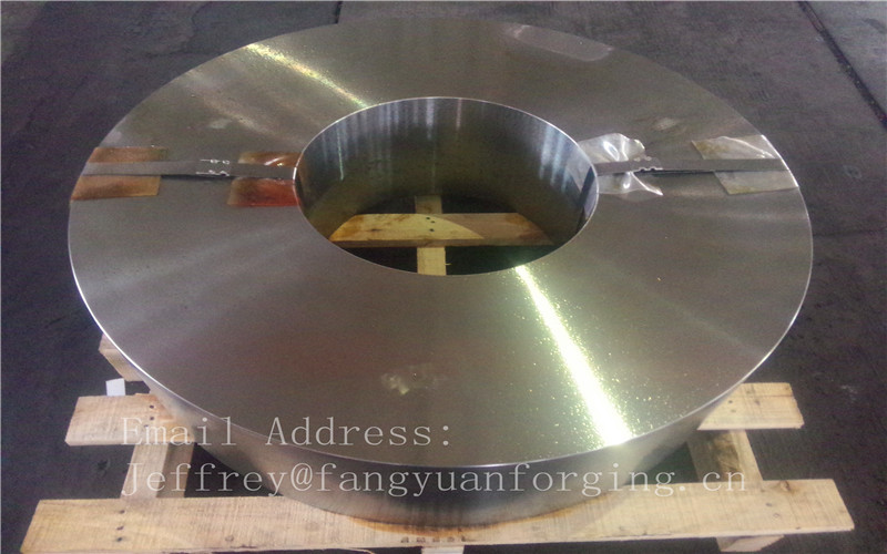 Hot Forged Aloy Steel Forged Wheel Blanks Rough Machined High Tolerance
